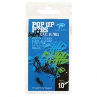 Giants Fishing Kolíček s očkem Pop Up Pegs with Bait Rings 10ks