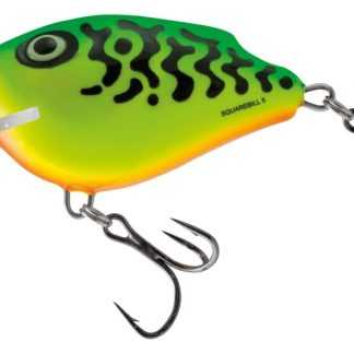 Salmo Wobler SquareBill Floating Green Tiger