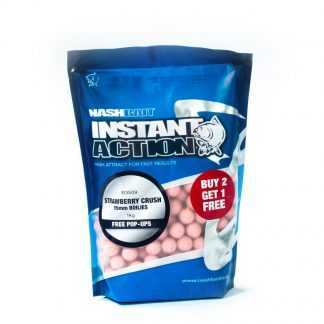Nash Boilie Instant Action Strawberry Crush