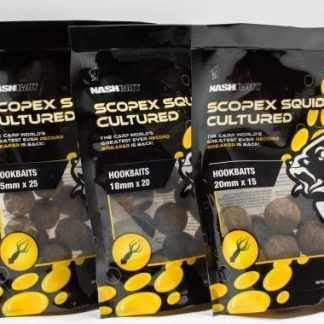 Nash Boilie Scopex Squid Cultured Hookbaits