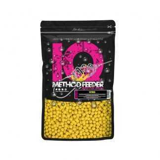 LK Baits Fluoro Boilie IQ Method Feeder 10-12mm 600g