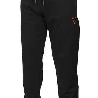 Fox Tepláky Collection Orange & Black Joggers
