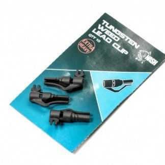 Nash Tungsten Weed Lead Clip 10ks