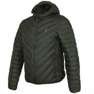 Fox Bunda Collection Quilted Jacket Green/Silver