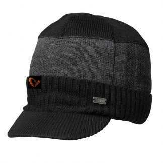 Savage Gear Čepice Savage Knitted Beanie w/Brim