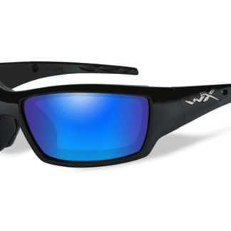 Wiley X Polarizační brýle Tide Polarized blue mirror green lens/Gloss black frame