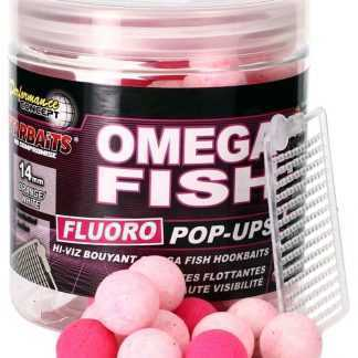 Starbaits Plovoucí boilies Fluo Omega Fish 80g