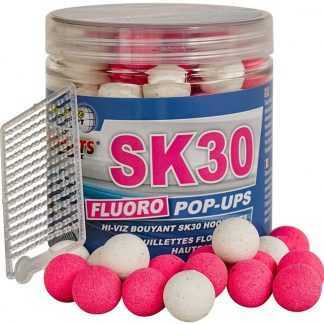Starbaits Plovoucí boilies Fluo SK30 80g