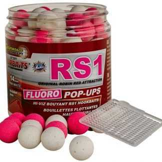 Starbaits Plovoucí boilies Fluo RS1 80g