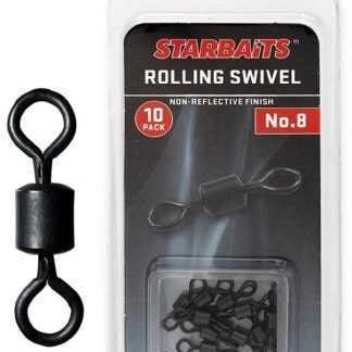 Starbaits Obratlík Rolling Swivel č.8 10ks