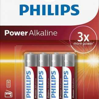 Philips Baterie Powerlife mikrotužka LR03 AAA 4ks