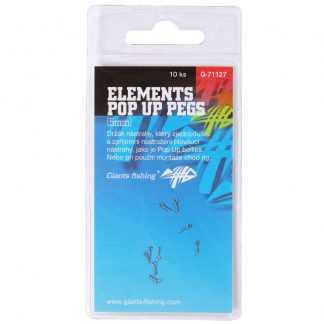 Giants Fishing Kolíček s očkem Elements Pop Up Pegs 10ks
