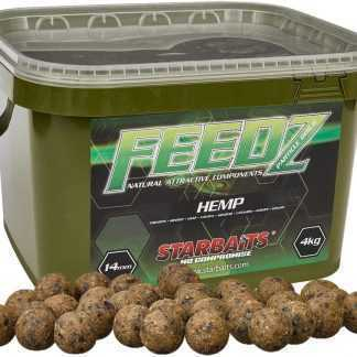 Starbaits Boilies FEEDZ Hemp 4kg