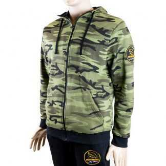 Mikbaits Mikina Zip up camou