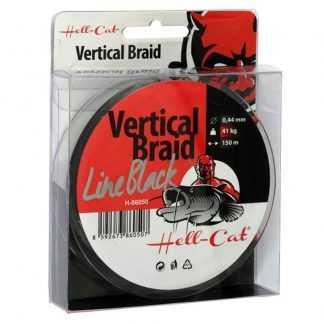 Hell-Cat Splétaná šňůra Braid Line Vertical Red 150m